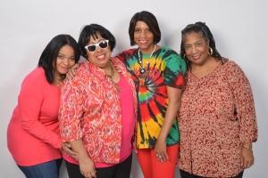 L-R Lisa Shepherd, Patricia Wallace-Winbush, Vicki Saunders, Deborah Macklin