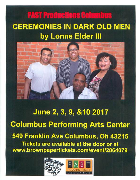 Ceremonies In Dark Old Men 2017